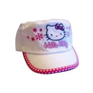 Hello Kitty  Hat / Baseball Cap (White) Toys & Games