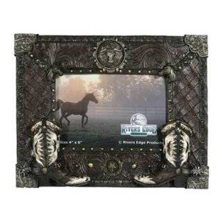 Edge Products Cowboy Boot Horse Picture Frame