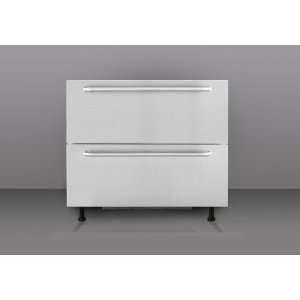 Stainless Steel Drawers Built In Refrigerator BDR190NASSTB Appliances