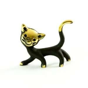 Walter Bosse Brass Cat Figurine