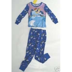 Disney Cinderella Girls Long PJ Pajamas Sz 2 Everything