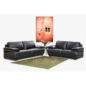 Diamond Sofa Ritz Bonded Leather Sofa Loveseat 2  Piece