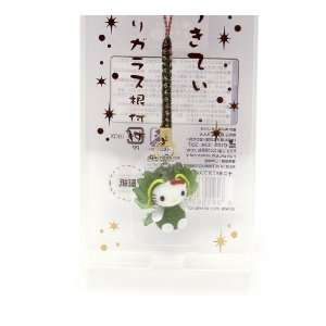 Kitty Chinese Zodiac Glass Netsuke Cell Phone Charm (Dragon) Toys