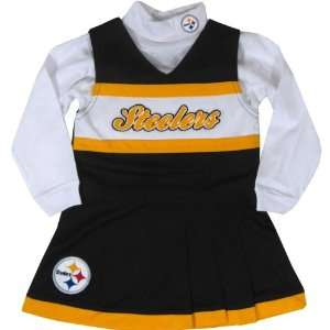 Reebok Pittsburgh Steelers Infant Cheer Uniform