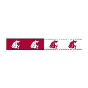 5/8 Grosgrain Ribbon Washington State University 3 Yd