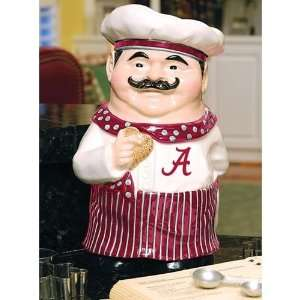 Alabama Crimson Tide Chef Ceramic Cookie Jar