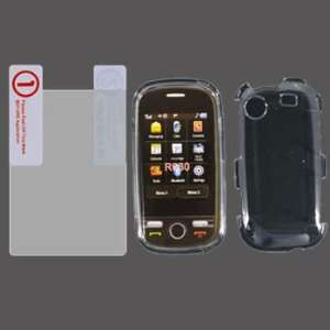 Samsung Messager Touch R630 Transparent Clear Cover Hard