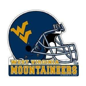 SET OF 3 WEST VIRGINIA MOUNTAINEERS FOOTBALL HELMET DIE