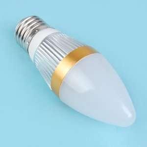 3W E27 White Energy Saving LED Light Bulb Lamp