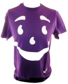 Kool Aid Mens T Shirt   Kool Aid Man Face on Grape Purple Clothing