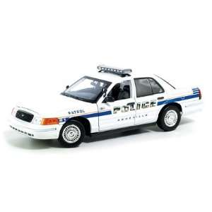18th Scale Ford Crown Victoria Ashville, Nc Police Car Toys & Games
