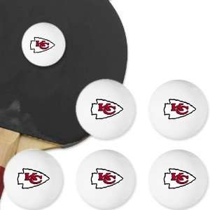 Kansas City Chiefs Table Tennis Balls