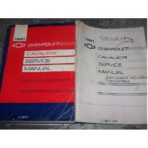 OEM (service manual, and the service manual supplement.) gm Books