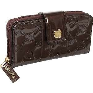 Loungefly Hello Kitty Brown Embossed Long Wallet Beauty
