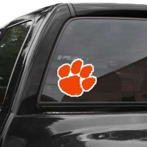 Clemson Tigers 8 x 8 Die Cut Decal Automotive