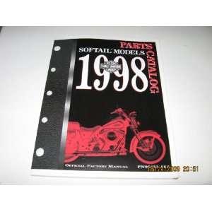 1998 Harley Davidson Softail Models Parts Catalog Harley Davidson