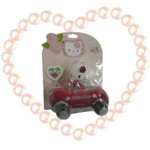 HELLO KITTY CUTE CAR MOBILE CELL PHONE HOLDER RED A20