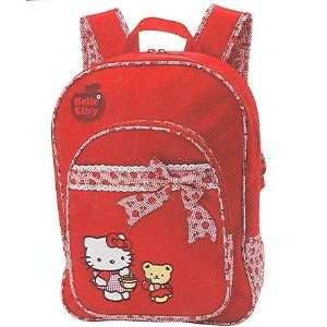 Sanrio Red Apple Hello Kitty Backpack With Bow * Great Gift For All