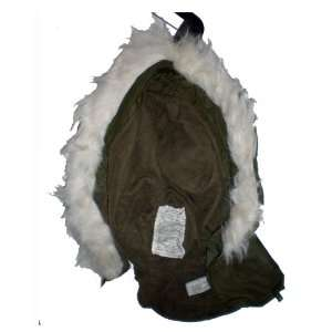 HOOD Alpha OD M65 ECW OG107 Extreme Cold Weather G.I. Military Hood