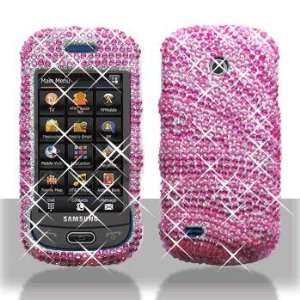 Samsung A597 Eternity II Full Diamond Hot Pink Pink Zebra