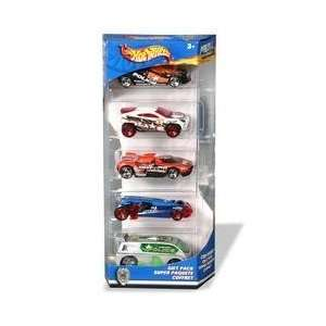 5 Car Gift PackHot Wheels Cop Squad Toys & Games