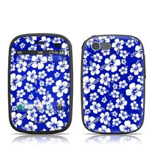 Blue Design Protective Skin Decal Sticker for HP Veer 4G Cell Phone
