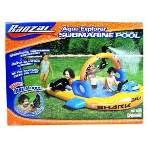 Explorer Series Inflatable Swimming Pool  SUBMARINE POOL with Water