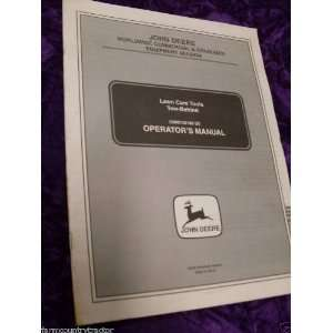 John Deere Lawn Care Tools Tow Behind OEM OEM Owners Manual: John