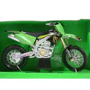 2008 Kawasaki KX250F Diecast Motorcycle Model 1:12 scale