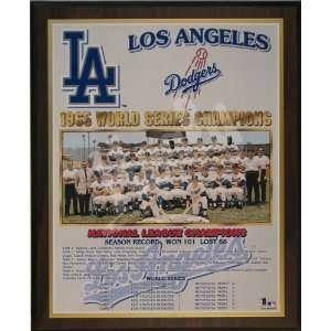 1965 Los Angeles Dodgers Major League Baseball World