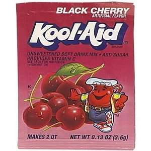 Kool Aid Black Cherry Drink Mix (Pack of 96 Envelopes
