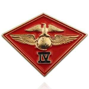 U.S. Marine Corps 004th MC Wing Pin: Jewelry