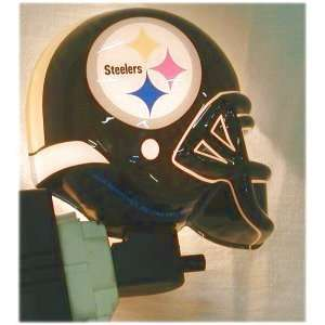 NFL Pittsburgh Steelers Helmet Night Light  Sports