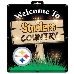 NFL Pittsburgh Steelers Window Sign