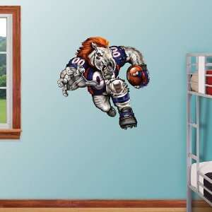 NFL Denver Broncos Blistering Bronco Vinyl Wall Graphic Decal Sticker