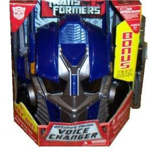 OPTIMUS PRIME VOICE CHANGER WITH BONUS T E C H DIGITAL DAGGER: Toys