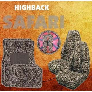 Back Seat Covers, Steering Wheel Cover & Shoulder Pad Set Automotive