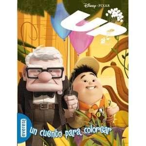 Up. Un cuento para colorear (9788444162751) DISNEY Books