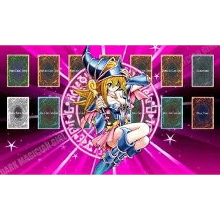 Dark Magician Girl 1 Yugioh Playmats Custom Made Playmat Play Mat Game