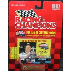 Mark Martin Diecast Exide Batteries 1/64 1997: Toys