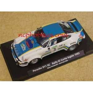 911 SC Rally El Corte Ingles 1982 Slot Car (Slot Cars) Toys & Games