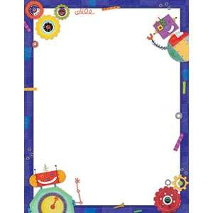 ROBOTS BLANK UNLINED CHART: Office Products
