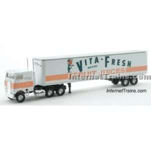 : Con Cor N Scale Semi Truck w/45 Trailer   Vita Fresh: Toys & Games
