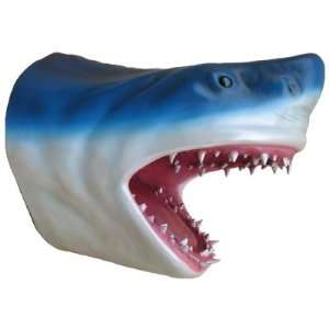 Shark Head Hanging Wall Art Life Nautical Tropical Home Decor