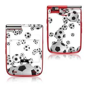 Lots of Soccer Balls Design Protective Skin Decal Sticker