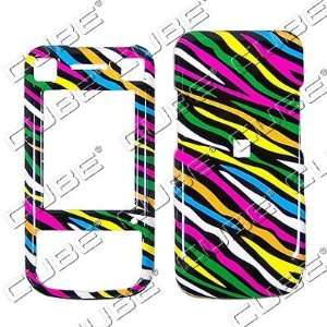 Sony Ericsson W760   Colorful Black Zebra Skin   Hard Protector Case