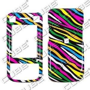 Sony Ericsson W760   Colorful Black Zebra Skin   Hard Protector Case