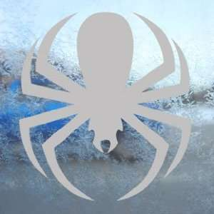 Spiderman Spider Gray Decal Car Truck Window Gray Sticker