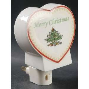 Spode Christmas Tree Green Trim Night Light, Fine China