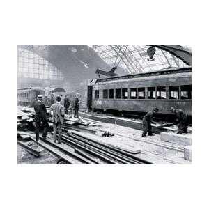 Railroad Shed House After Fire Philadelphia PA 12x18